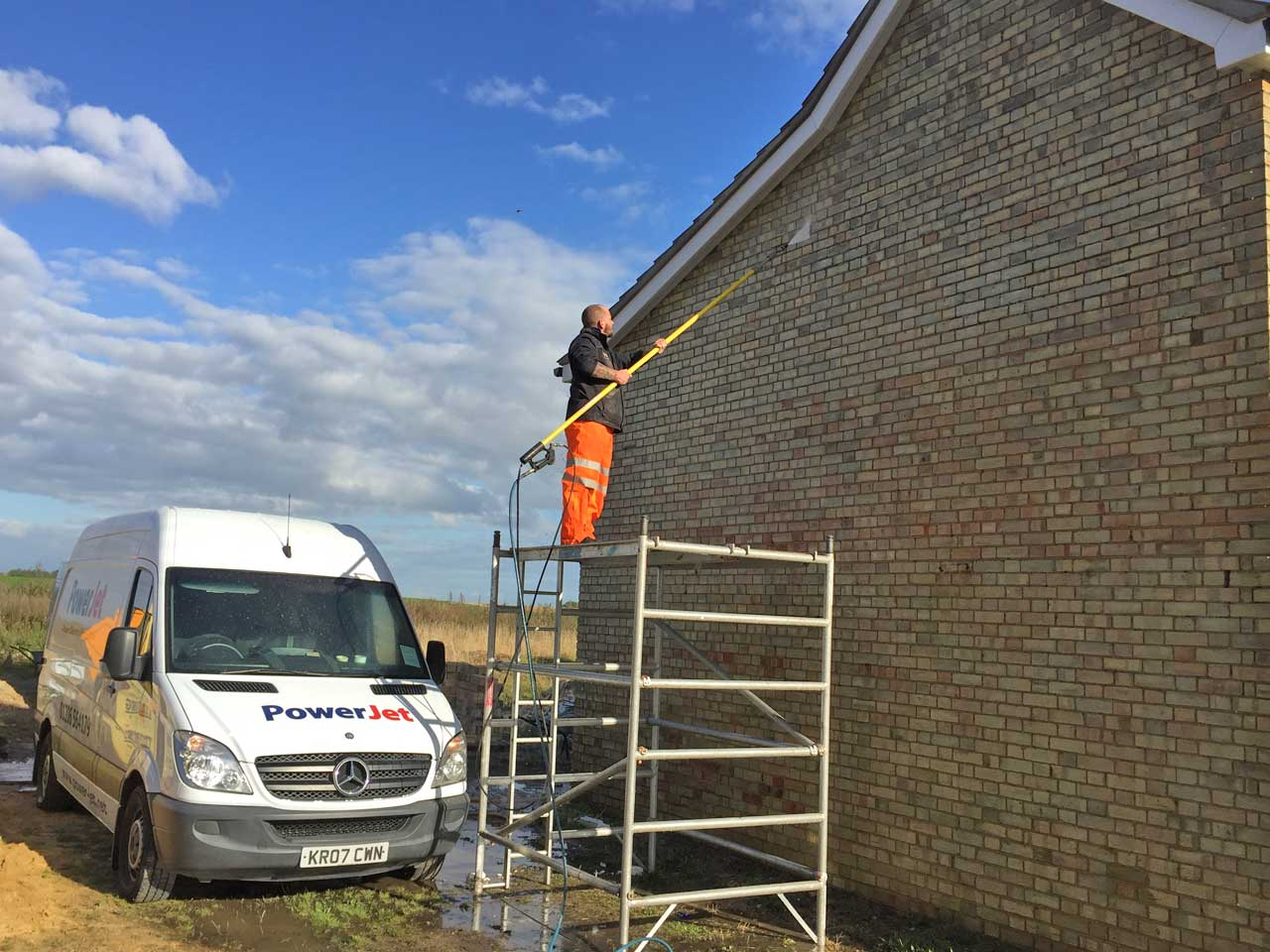High Level Cleaning Pressure Washing Company in Colchester Essex Power Jet